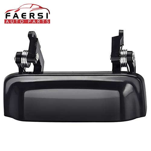 FAERSI Outside Exterior Door Handle Front Rear Driver Side & Passenger Side for 1998 1999 2000 2001 2002 2003 Ford Explorer 98-01 Mercury Mountaineer 2001 2002 2003 2004 2005 Ford Explorer Sport Trac