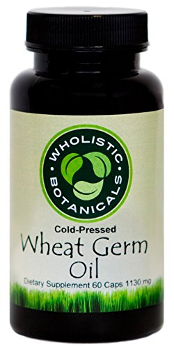 Wholistic Botanicals Wheat Germ Oil Capsule 60 ct.