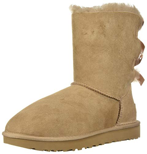 UGG Women's W Bailey Bow II Fashion Boot, Fawn, 8 M US]()