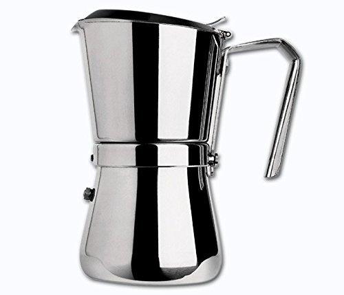 """Giannini """"Giannina"""" 3-espresso Cup Stovetop Espresso Maker"""