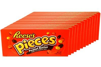 Reese's Pieces 4oz Theater Box 12 Packs by Unknown (12 Theater Boxes)