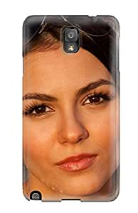 Galaxy Case - Tpu Case Protective For Galaxy Note 3- Victoria Justice