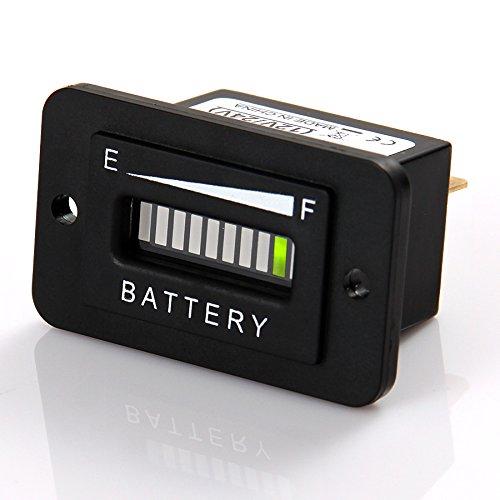 motor wie gabelstapler Runleader RL-BI003 12-24v batterie golfwagen boden auf ausr/üstung und andere batteriebetriebene ger/äte. anzeige indikator f/ür dc