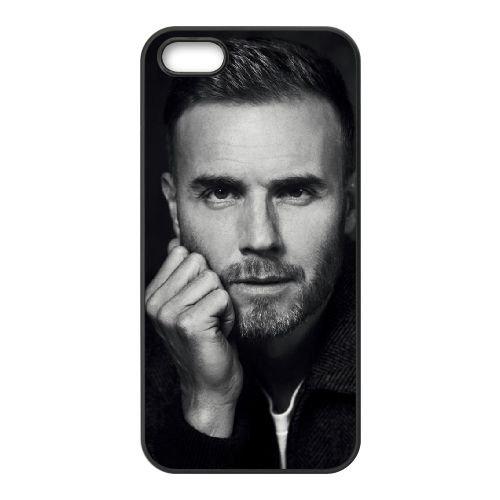 Gary Barlow PU68PV3 coque iPhone 4 4s de téléphone cellulaire coque S8SX6B9WU