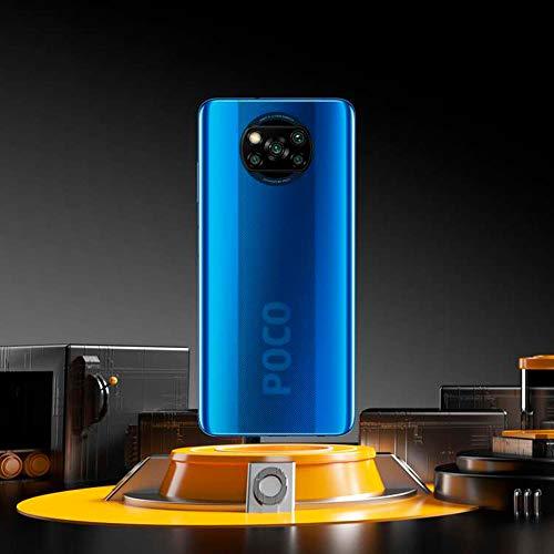 "POCO X3 NFC - Smartphone 6.67"" FHD+, 6 + 128GB, Snapdragon 732G, 64 MP con IA, Quad-cámara, 5160 mAh, color Azul Cobalto…"
