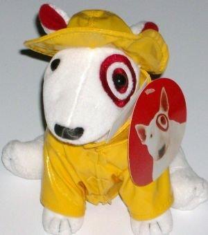 Amazon Com White Bullseye Target Puppy Dog Stuffed Animal With