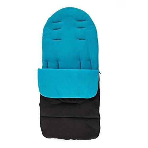 Sunbona Sleep Sack For Toddlers, Newborn Baby Universal Footmuff Cosy Toes Apron Liner Buggy Pram Stroller Wrap Sleeping Bag Kids (Blue)
