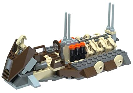 Amazoncom Lego Star Wars Battle Droid Carrier 7126 Toys Games