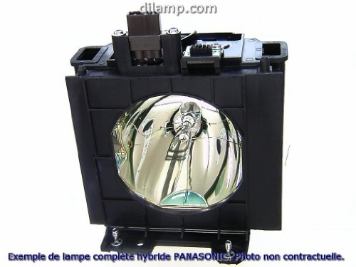 PT-D6000 Panasonic Twin-Pack Projector Lamp Replacement.Projector Lamp Assembly with High Quality Genuine Original Phoenix Bulb Inside by Panasonic