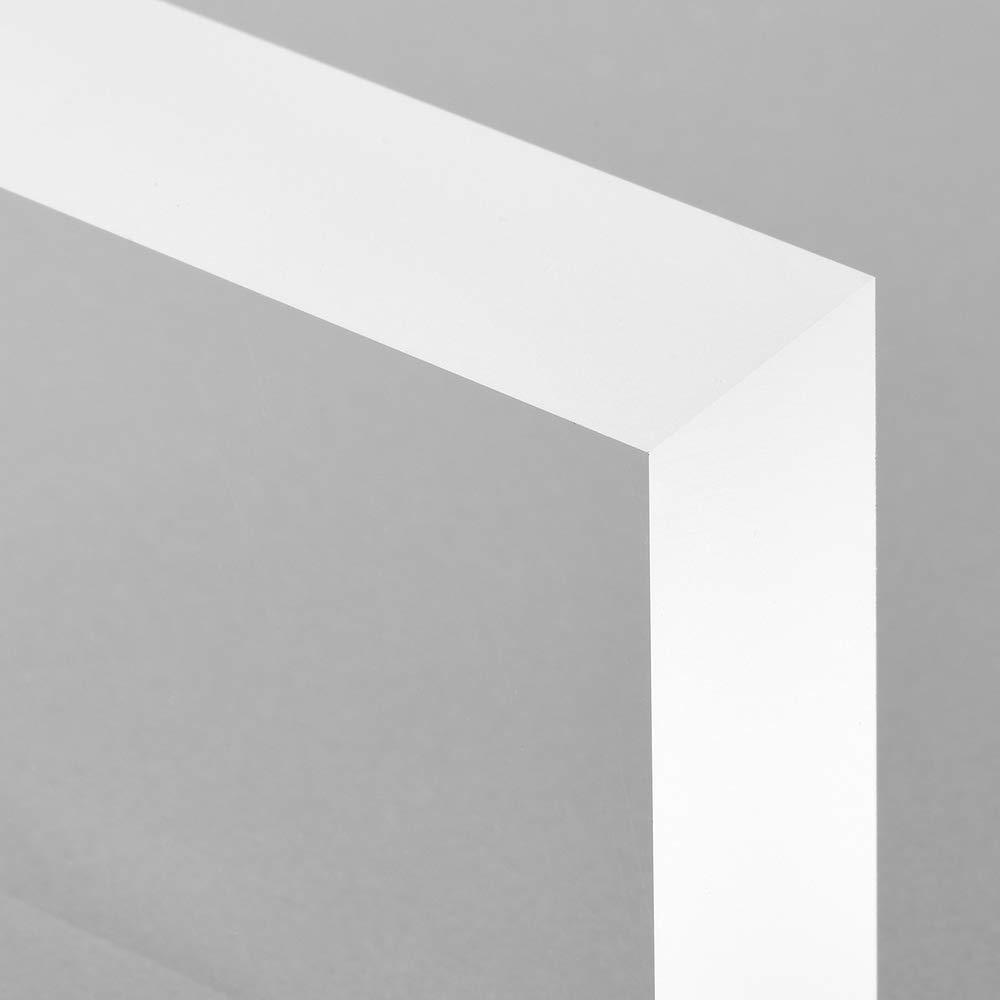 Zeigis/® Acrylblock 60x45x20mm transparent mit rundum seidenmatten//satinierten Seitenkanten//Acryl//Acrylglas