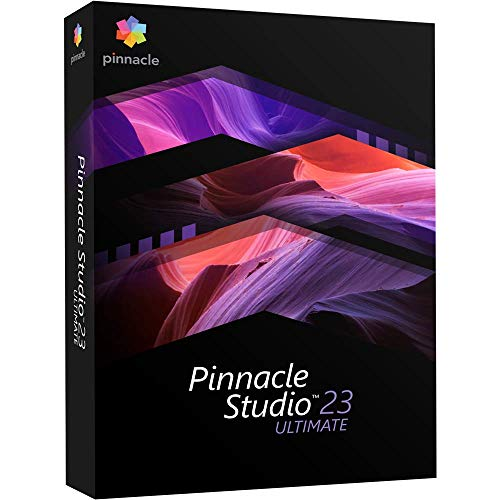 Pinnacle Studio 23 Ultimate - Advanced Video Editing and Screen Recording [PC...