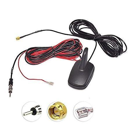 Auto- & Fahrzeugelektronik Toiot DAB Auto Aktive Antenne SMB Stecker auf DIN Adapter Shark Dachantenne Empfänger Verstärker 5m Verlängerungskabel für Autoradio Jvc Pioneer Kenwood Alpine Clarion MEHRWEG Antennen & Zubehör