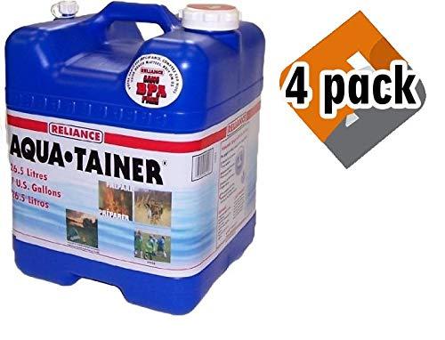 Reliance Products Aqua-Tainer 7 Gallon Rigid Water Container by Reliance Products