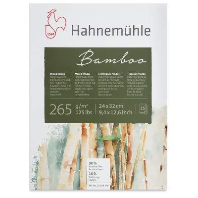 Hahnemuhle Bamboo Mixed Media Pad 16.5X23 Inc by Hahnemuhle