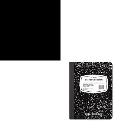 KITDUC442062MEA09910 - Value Kit - Duck Carpet Tape (DUC442062) and Mead Black Marble Composition Book (MEA09910)