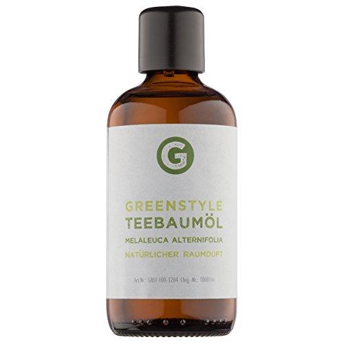 Teebaumöl - 100% naturrein - ätherisches Öl (100ml) von greenstyle