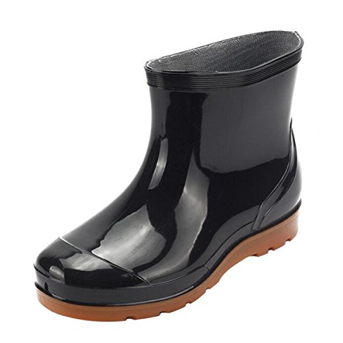 Men Rain Boots Waterproof Rubber Washing Work Boots