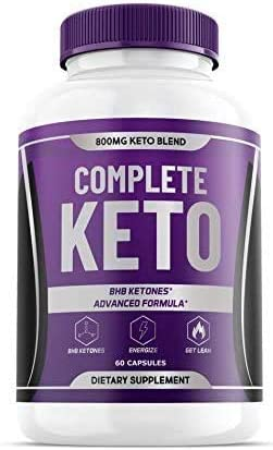 Complete Keto Pills 800mg, Keto Complete Diet Pills Capsules BHB Supplement, Complete Ketogenic Diet for Beginners, BHB Ketones Slim Pills for Energy, Focus - Exogenous Ketones for Men Women 1
