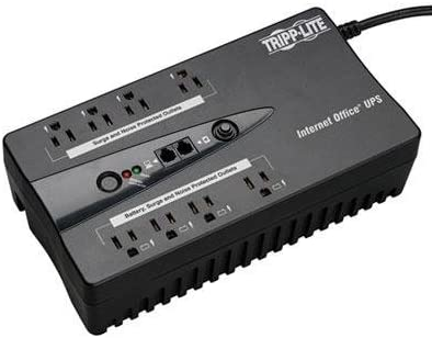 Tripp Lite INTERNET550SER 550VA UPS Compact Low Profile Standby 8 outlets w DB9 Port