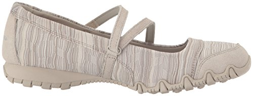 Skechers Bikers Ripples 49343BLK, Ballerinas Taupe Knit
