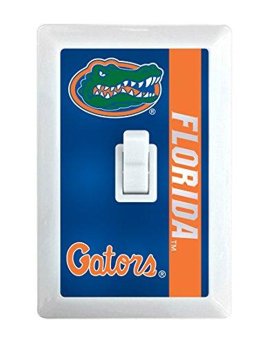 NCAA Florida Gators LED Illuminated Light Switch Cover-University of Florida Light Switch Night Light
