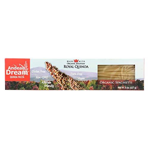 Andean Dream Org Spaghetti Quinoa Pasta Gluten Free ( 12x8 OZ) ()