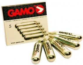 Caja de 5 Cargas de Gas para Carabinas CO2 12 G Gamo 6212470