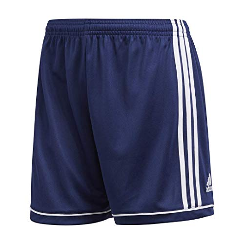 Adidas Women's Soccer Squadra 17 Shorts - Large - Dark Blue/White
