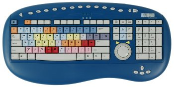 Bella Professional Series Keyboard for Avid Xpress DV (PC) - (Jog Shuttle Keyboard)