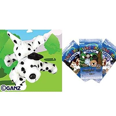 Webkinz Dalmatian with Trading Cards: Toys & Games