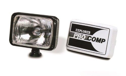 "Explorer Pro Comp 9002 Black Plastic Driving 6"" x 9"" Auxiliary Light"