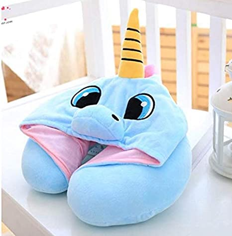 Neck Pillow Head Cushion Unicorn Cute