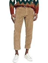 Men's Khaki Corduroy Pants