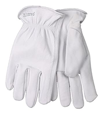 Kinco Premium Grain Goatskin Unlined Drivers Gloves