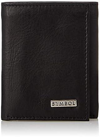Amazon Brand - Symbol Men's Tri-fold Leather wallet