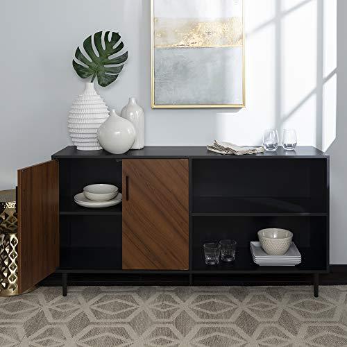 WE Furniture AZ58BMHPASSB TV Stand 58