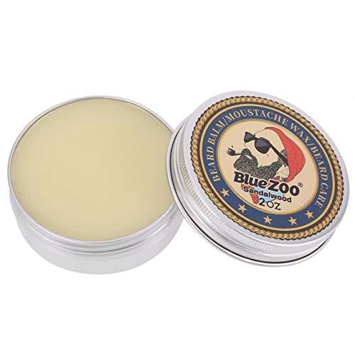 Sala-Ctr - Blue Zoo 60g Natural Beard Oil Balm Moustache Wax Natural Grooming Moisturizing Speed Growth Organic Balm Beard Care ()