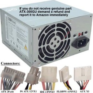 FORTHY SEVEN STREET PHOTO Dell 300W Power Supply Replacem...