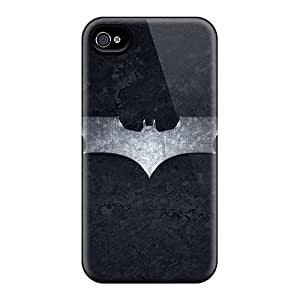 Iphone 4/4s Case Slim [ultra Fit] Dark Knight Hd Protective Case Cover