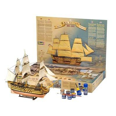 Revell 05758 - Modellbausatz Geschenkset H.M.S. Victory im MaÃstab 1:225