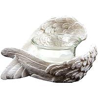 Bougeoir décoratif ailes d'anges idée cadeau fête des mères Saint Valentin