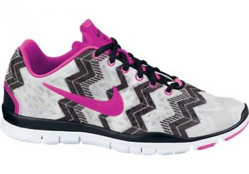 9a90041dfb65 Galleon - Nike Women s Free TR Fit 3 Print Running Shoes-Black Pink Foil-Wolf  Grey-9.5