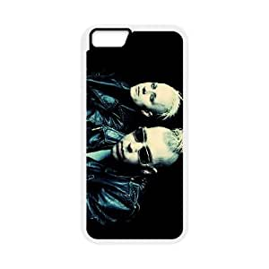 iPhone 6 Plus 5.5 Inch Cell Phone Case Covers White KMFDM iqtu