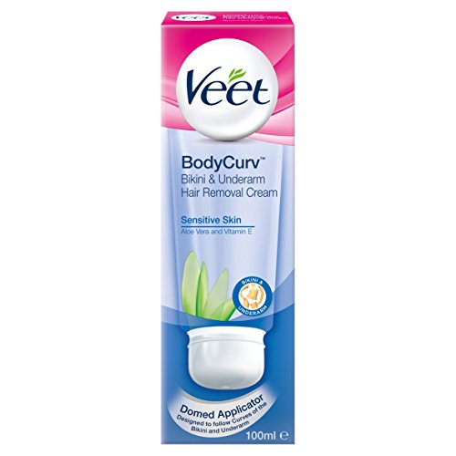 Veet Hair Removal Cream Sensitive Skin Bikini and Underarm - 100 ml