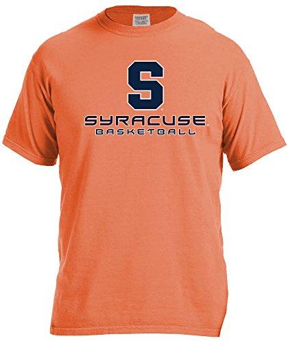 Image One Ncaa Syracuse Orange Basketball Energy Short Sleeve Comfort Color Tee  Large Burntorange