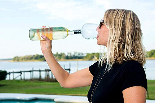 Turn a wine bottle into a glass