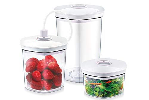 - CASO Germany Vacuum Sealer Canister, Set of 3