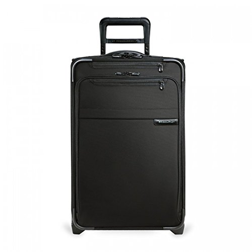 Briggs & Riley Baseline Luggage Baseline Domestic Carry-On Expandable Upright, Black, Medium by Briggs & Riley