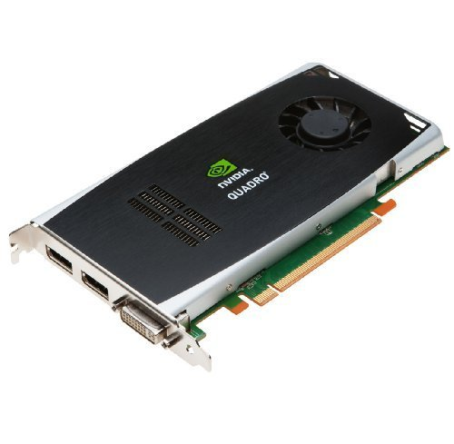 NVIDIA Quadro FX 1800 by PNY 768MB GDDR3 DDR3 PCI Express Gen 2 x16 DVI-I DL and Dual DisplayPort OpenGL, Direct X, CUDA, and OpenCL Profesional Graphics Board, VCQFX1800-PCIE-PB