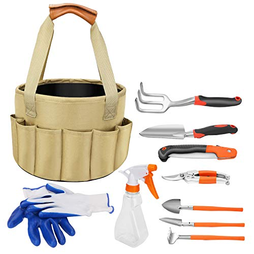 10 Piece Garden Tools Set,Garden Tool Kit